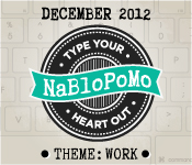 NaBloPoMo December 2012